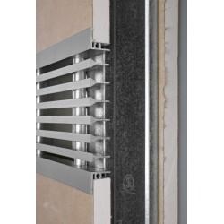 Grille linéaire spéciale pour murs en plaques de plâtre
