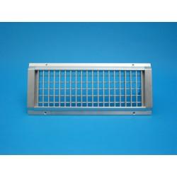 E-VHCA : Grille de soufflage à ailettes mobiles verticales et horizontales.