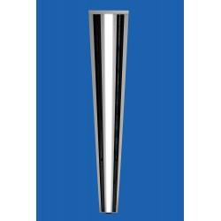 STAR-TR15-LED : Diffuseur linéaire à ailettes orientables