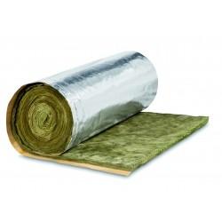 Rouleau laine de verre avec revêtement kraft alu